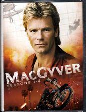 Macgyver Tv Series Seasons 1 2 3 4 New Sealed Dvd 1-4 Richard Dean Anderson