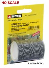 NOCH 60430 HO Scale Cobblestone Stone Road Street Roll 3.2ft NEW $0 Shipping