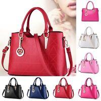 Fashion Women Leather Handbag Shoulder Bag Tote Purse Hobo Messenger Satchel New