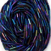 Hank Size 5 Crystal Iris Bugle #CBE018