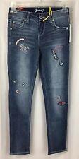 Seven7 Skinny Jeans Denim Girls Size 10 Embellished