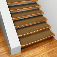 Set of 12 SKID-RESISTANT Carpet Stair Treads 8