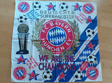 FC Bayern München - Bandana Kopftuch Halstuch oder Dekotuch - Wanddeko Champions