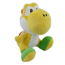 "1x Official Nintendo Super Mario 6"" Yellow Yoshi Plush Little Buddy (1220) USA"