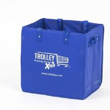 Trolley Bags XTRA BAG 34x24x34cm 15kg Capacity, Folds Up For Easy Storage BLUE