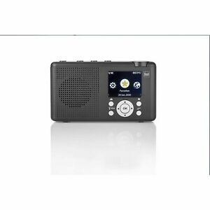 Digitalradio Dual MCR 200 Radio Digital Smart Bluetooth Akku USB-C Internetradio