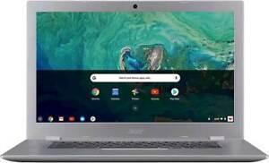 """Acer Chromebook 514 NIB!! Silver 14"""" Touch Screen  Backlit Keyboard 4GB RAM 64GB"""