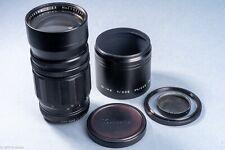Sankyo Kohki Komura 200mm F3.5 LENS Leica thread mt for VISOFLEX Complete w/hood