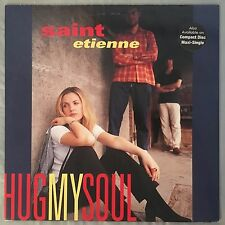 "SAINT ETIENNE - Hug My Soul - 12"" Single (Vinyl LP) WB 41591 Promo"