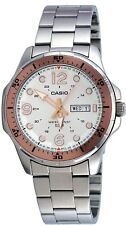 Casio MTD100D-7A1V Men's Stainless Steel Silver Dial Watch
