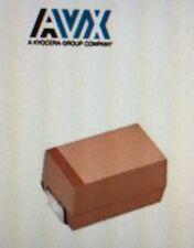 Lot Of 493 AVX TAJA106K010RNJ Tantalum Capacitors Solid SMD 10volts 10uF 10%#W35
