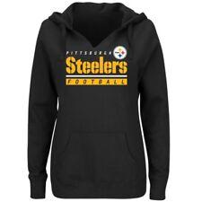 🏈 Pittsburgh Steelers Majestic NFL Self-Determination Women's XXL Casual Hoodie