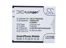 SmartPhone Battery for Zte Obsidian, Z820, Li3818T43P3h635450 ( 1800 mAh )