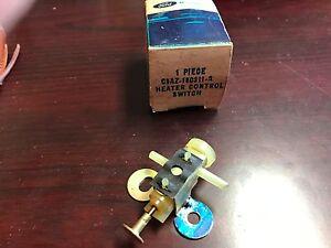 NOS 1969 1970 Ford Galaxie A/C Heat Servo Temp Control Switch C9AZ-18C311-A  dp