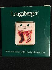Longaberger Weekend Tote Paprika Purse Mirror 2004 Mothers Day MIB