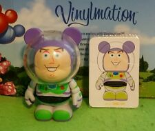 "Disney Vinylmation 3"" Park Set 1 Toy Story Buzz Lightyear Pixar with Card"