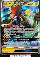 Carte Pokemon TOKORICO 47/145 Holo GX Soleil et Lune 2 SL2 FR NEUF