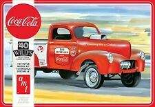 1//25 Scale 2019 Release AMT 40/'s Willys Pickup Coke Decals and Instructions