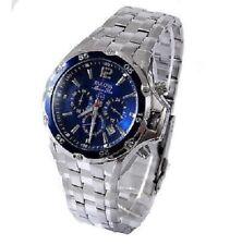 New Bulova 98B282 Men's Marine Star Chronograph Blue Dial Stainless watch #b