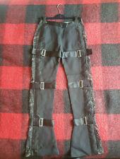 BNWT Alexander McQueen lace bondage trousers UK10 IT40