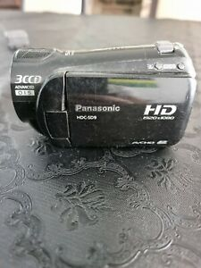 Panasonic HDC-SD9 Camcorder - Black plus charger
