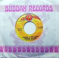FREDDIE WATERS 45 Singing A New Song / I Love You ORIGINAL Curtom VG++ #748