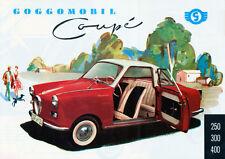 Glas - Goggomobil  -  Coupe  -  Prospekt  - 1954  -  Deutsch - nl-Versandhandel