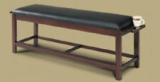 Pool Billiards Storage Bench with Black Cherry Finish & FREE Shipping