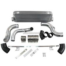 "CXRacing FMIC Intercooler Kit 2.5"" Core For 94-01 Audi A4 B5 Black Hoses"