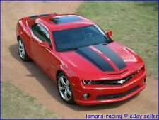 Camaro 2010 2011 Rally Vinyl Full Car Stripes Hood Trunk Chevy RS SS Decals