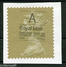 GRANDE BRETAGNE, GB, 2011, timbre ROYAL MAIL, Postage paid UK, autocollant