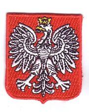 Polen Landeswappen  Patch ,Aufbügler,Aufnäher ,Polska, Wappen
