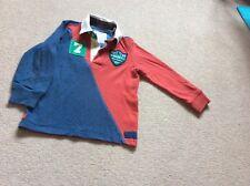 Joules rugby top, age 4, mischiefs range