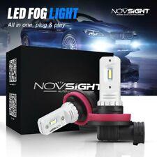 Novsight Auto H11 H8 H9 LED Luz de Niebla Bombillas 160W Lámpara de Coche Kit 6000K Xenon Blanco