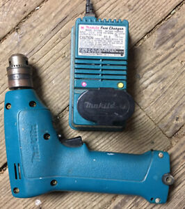 MAKITA 6010D 7.2V CORDLESS DRILL DRIVER with Charger and One Battery