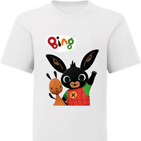 T-Shirt Bing Cartoni bambino bambina maglia maglietta 100% cotone Made in Italy