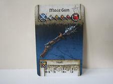 Zombicide Green Horde / Black Plague KS Exclusive Card Mace Gun