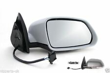 SKODA OCTAVIA MK2 2004-2009 ELECTRIC PRIMED DOOR WING MIRROR O/S DRIVERS SIDE