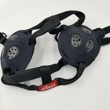 Asics Wrestling Headgear Ear Guard Wrestling HeadGear Black Protection Safety