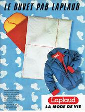 Publicité Advertising 107 1984  duvet anorak par Laplaud