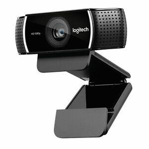Logitech C922 Pro Stream Webcam Full HD 30fps 1080p 2x Mic Autofocus 960-001090