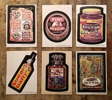 1974 Topps Wacky Packages Series 6 Complete 33 Card Set