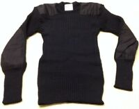 """Genuine Issue British Royal Navy Blue Wool Jumper 38"""" 97cm New Made UK Pullover"""