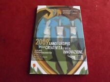 * San Marino 2 euro conmemorativa 2009 en blíster * creatividad & innovación