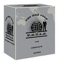 "THE MAN FROM U.N.C.L.E COMPLETE SERIES COLLECTION 41 DISCS BOX SET R4 ""NEW"""