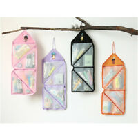 Hanging Travel Makeup Case Toiletry Cosmetic Wash Bag Purse Zipper Organizer S