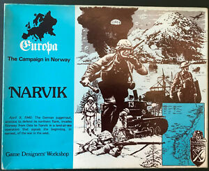 Narvik - Europa IV 2nd Edition (1980) by GDW (S&T, SPI, Avalon Hill, GMT)