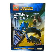 Batman Vs The Joker Lego DC Superheroes Activity Book And Lego Minifig