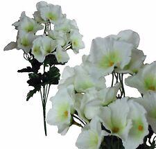 Lot of 24 Cream Hydrangea Picks 120 Stems Wedding Home Decor Craft Silk Flower