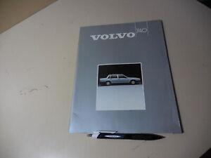 VOLVO 740 FINLAND Brochure 1985/02?